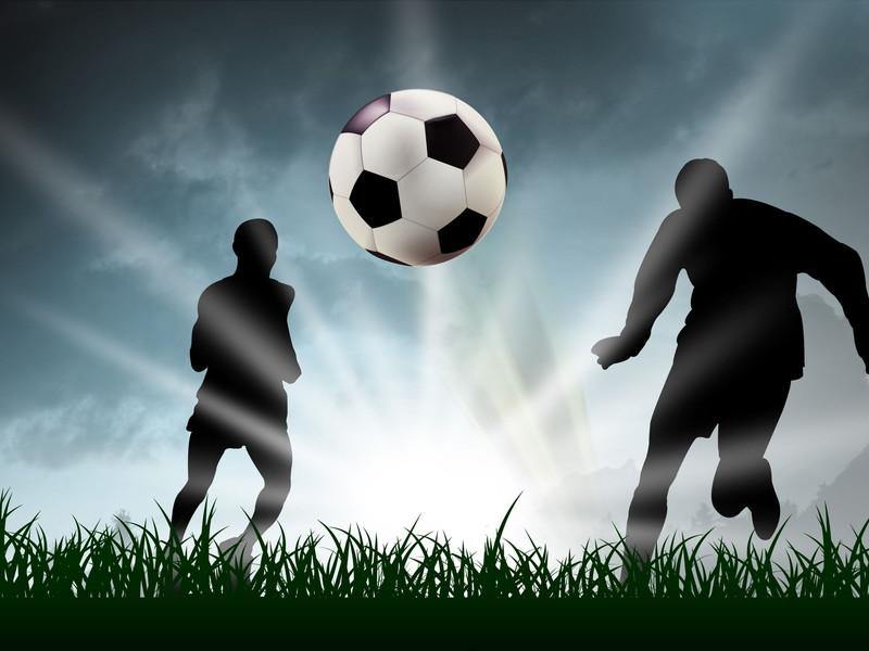 サッカープレー